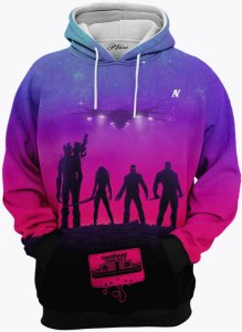 Blusa de Frio Moletom Guardians Of The Galaxy