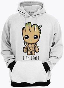 Blusa de Frio Moletom I Am Groot