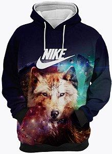 Blusa de Frio Moletom Nike Lobo