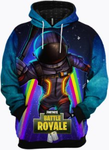 Roupa de Frio Moletom Fortnite Battle Royale