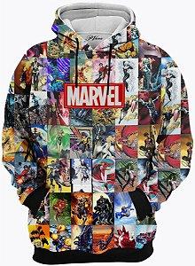 Blusa Moletom Marvel Quadrinhos
