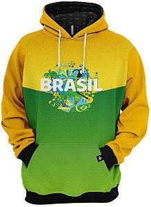 Moletom Nas Cores do Brasil