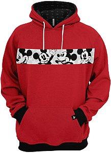 Blusa de Frio Moletom Mickey Mouse Desenho