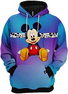 Blusa Frio Moletom Mickey Mouse