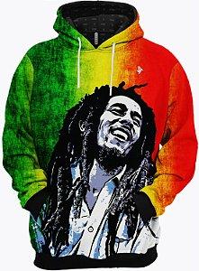 Blusa de Frio Moletom Bob Marley Reggae Jamaica