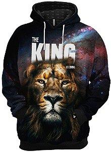 Blusa De Frio Moletom O Rei Está Chegando