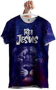 Camiseta Leão Rei Jesus