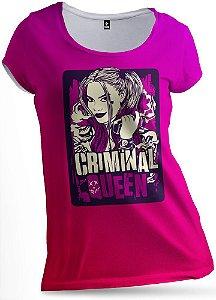 Blusa Criminal Queen Arlequina