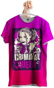 Camiseta Criminal Queen Arlequina