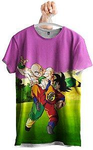 Camiseta Goku x Tenshinhan