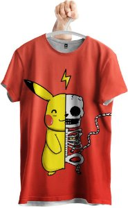 Camiseta Pikachu Pokemon GO