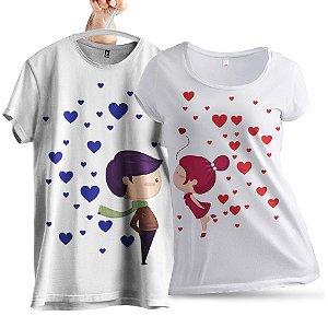 KIT 2 Camisetas Amor no AR