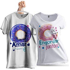 KIT 2 Camisetas Engordar Juntos