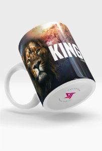 Caneca Gospel Criativa Gospel O Rei Está Chegando
