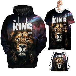 KIT Moletom O Rei Está Chegando - Grátis Camisa e Bolsa