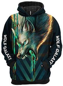 Blusa De Frio Moletom Lobo Verde