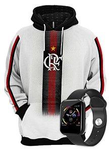 KIT Moletom Clube do Flamengo e SmartWatch