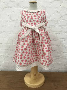 Vestido Mix de Estampas Floral e Coração