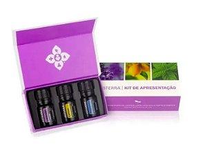 Kit Introdutório - 3 Óleos essenciais doTerra®