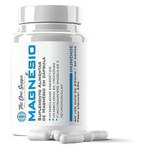 Magnésio Bisglicinato 175mg + Threonato 175mg - 60 Veg Caps