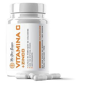 Vitamina C 500mg + Zinc 15mg + A, B1, B6 e B12 - 60 Veg Caps