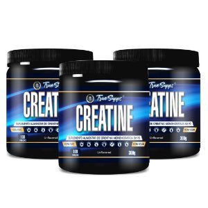 Kit 3 unids Creatine 300g Vegan True Supps