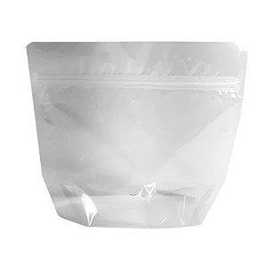 Embalagem Plástica Stand-up Pouch com zíper 16 x 15 cm - 50 unidades