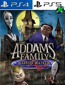 A Família Addams Mansão da Confusão