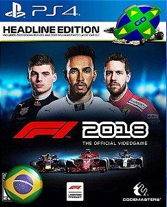 F1 2018 FORMULA UM - PS4