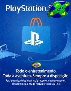 CARTÃO PSN BRASIL - 12 DÍGITOS