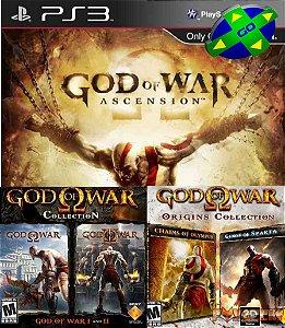 GOD OF WAR 5 JOGOS EM 1 - PS3