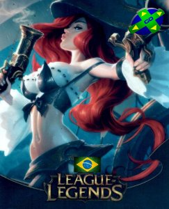 CARTÃO LEAGUE OF LEGENDS - LOL