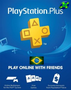 CARTÃO PLAYSTATION PLUS