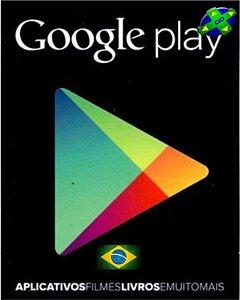 CARTÃO GOOGLE PLAY