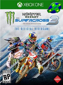 MONSTER ENERGY SUPERCROSS - THE OFICIAL VIDEOGAME 3 - XBOX ONE