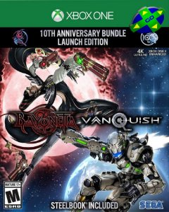 BAYONETTA AND VANQUISH 10TH ANNIVERSARY LAUNCH BUNDLE - XBOX ONE