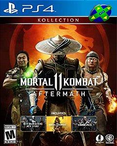 MORTAL KOMBAT 11 COLEÇÃO AFTERMATH - PS4