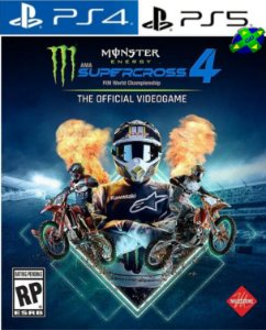 Monster Energy Supercross - The Official Videogame 4 - PS4/PS5