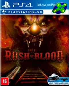 Until Dawn Rush Of Blood Vr  - PS4/PS5