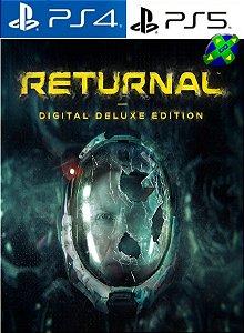 Returnal Edição Deluxe Digital - PS4/PS5