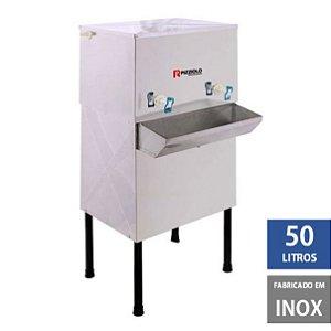 Bebedouro Industrial 50 litros Coluna em Inox P50C