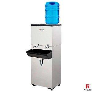 Bebedouro Industrial 100 litros Garrafão em Inox P100G