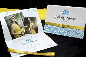 Convite Glória Maria