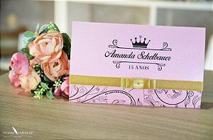 Convite Amanda