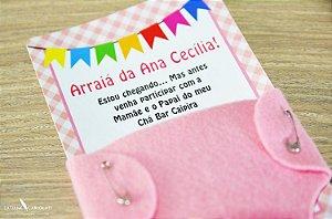 Convite Ana Cecília