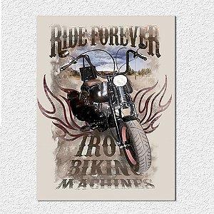 Placa Ride Forever