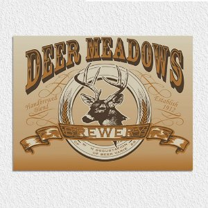 Placa Deer Meadows