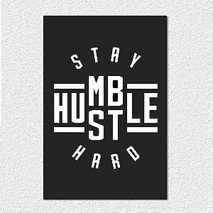 Placa Stay Hmble