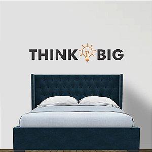 adesivo de parede think big