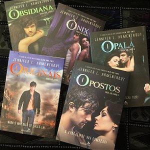 Saga Lux | Obsidiana, Ônix, Opala, Originais e Opostos - Jennifer L Armentrout